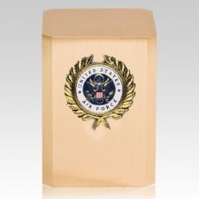 Air Force Wreath Military Cremation Urn