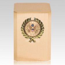 Army Wreath Military Cremation Urn
