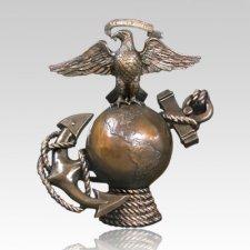 Semper Fi Military Cremation Urn