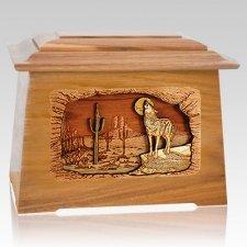 Desert Moon Oak Aristocrat Cremation Urn