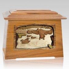 Marshland Melody Oak Aristocrat Cremation Urn