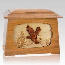 Eagle Oak Aristocrat Cremation Urn