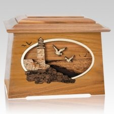 Sea Coast Oak Aristocrat Cremation Urn