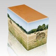 Bailing Hay Oak Child Cremation Urn II