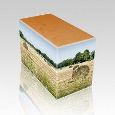 Bailing Hay Oak Child Cremation Urn