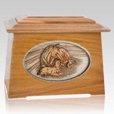 Daddys Love Oak Aristocrat Cremation Urn