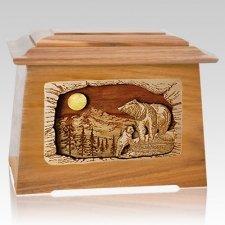 Country Haven Oak Aristocrat Cremation Urn