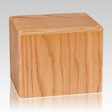Oak Large Pet Cremation Urn