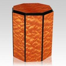 Lumpi Wood Urn