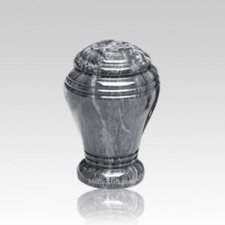 Midnight Onyx Marble Cremation Urn II