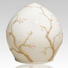 Paradeisos Ceramic Cremation Urn