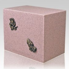 Peach Naples Companion Cremation Urn