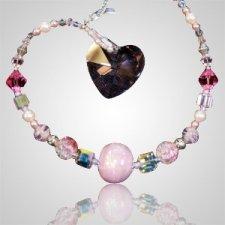Ash Beads Forever Heart Suncatcher