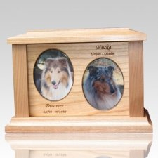 Two Forever Picture Cremation Urn - Large