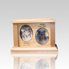 Two Forever Picture Cremation Urn - Small