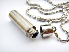 Pet Bullet Cremation Keychain