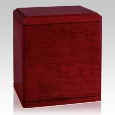 Presidents Rosewood Wood Cremation Urn