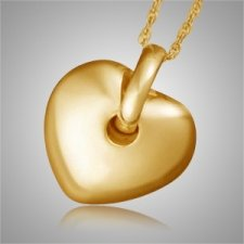 Puff Heart Pet Cremation Jewelry II
