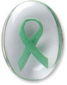 Awareness Green Ribbon Comfort Stones