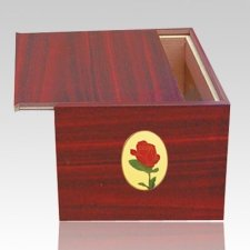 Danish Rose Cremation Urn