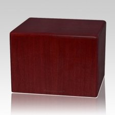 Rosewood Large Pet Cremation Urn