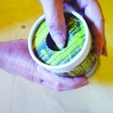 Rainbow Scattering Large Biodegradable Urn