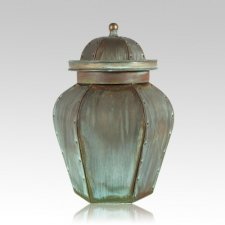 Verde Lacross Copper Urn
