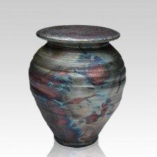 Raku Dream Medium Cremation Urn
