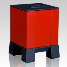 Red & Red Children Cremation Urn