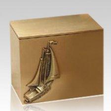 Spinnaker Bronze Cremation Urn