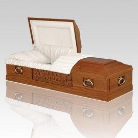 Sorriso Mahogany Wood Caskets