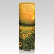 Sunflower Scattering Biodegradable Urn