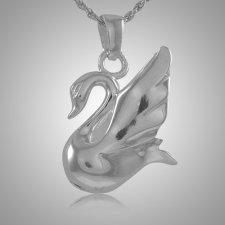 Swan Cremation Jewelry III