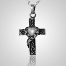 Swirl Cross Keepsake Jewelry