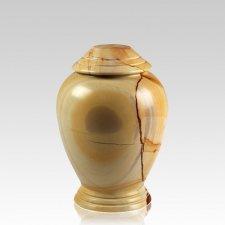 Teakwood Classica Marble Medium Cremation Urn