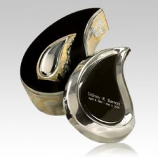 Teardrop Gold Keepsake Cremation Urn