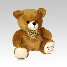 Brown Teddy Bear Urn