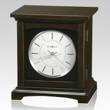 Tribute Mantel Clock Cremation Urn