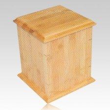 Bamboo Nature Cremation Urn