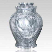 V Marble Cremation Urn