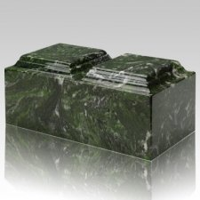 Verde Marble Companion Urn