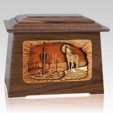 Desert Moon Walnut Aristocrat Cremation Urn