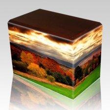 Autumn Walnut Child Cremation Urn II