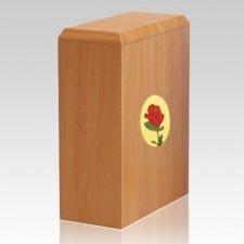 British Rose Cremation Urn