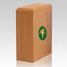 British Wheat Cremation Urn