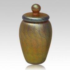 Pure Gold Art Cremation Urn