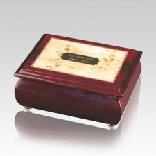 Provincial Wood Cremation Urn