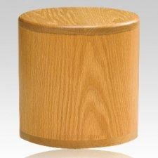Barillet Oak Cremation Urn