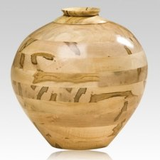 Wabanaki Wood Cremation Urn