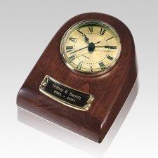 Merlot Clock Keepsake Cremation Urn